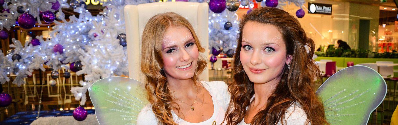 Dwie hostessy z agencji Warszawa