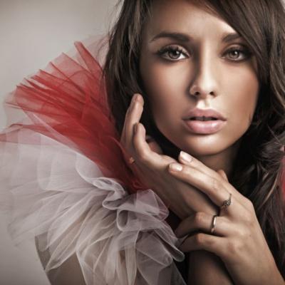 portret modelki z Warszawy
