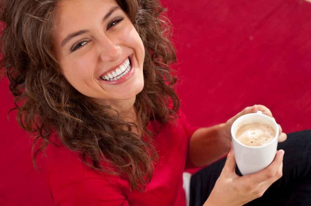 hostessa na promocji kawy