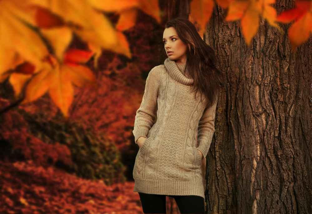 modelka jesienny event