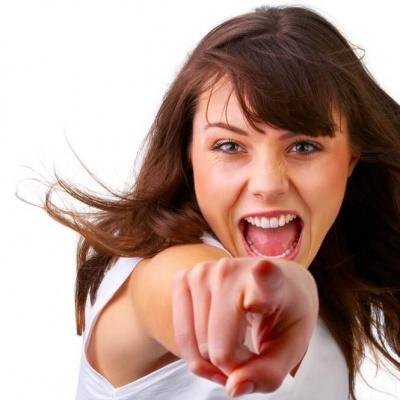 Hostessa podczas akcji promocyjnej w warszawie